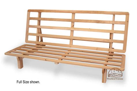 Wooden Frame Sofa Bed by Futon Frame Solid Wood New Bi Fold Futon Sofa Bed Frame