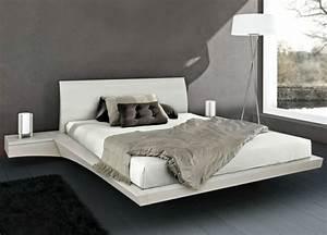 Weisse Betten Holz : 22 ausgefallene betten ideen f r ihr stilvolles schlafzimmer ~ Markanthonyermac.com Haus und Dekorationen