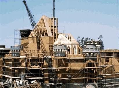Construction Disneyland Disney Timelapse Shows Ago