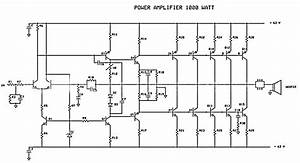 how to create 1000 watt power amplifier escaleras With crown ce2000 amplifier circuit diagram