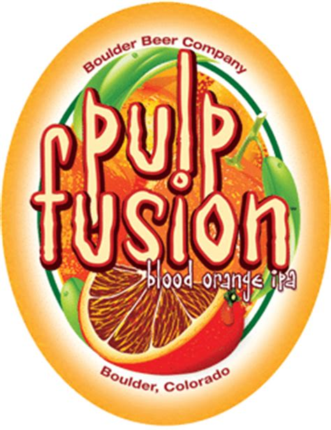 Pulp Fusion Summer Orange Ipa From Boulder Beer Company