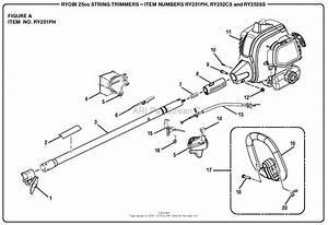 Homelite Ry251ph 25cc String Trimmer Parts Diagram For Figure A Item No  Ry251ph
