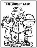 Dice Roll Math Multiplication Worksheets Preschool Fall Kindergarten Grade Addition Counting Moffattgirls Learning Subtraction 1st sketch template