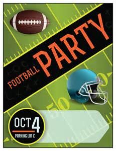 Cartoon Football Tailgate Party Clip Art