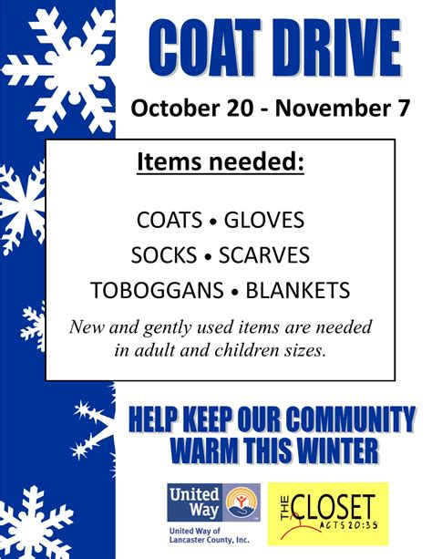 drive templates 5 best images of coat drive flyer templates winter coat drive flyer template coat drive flyer