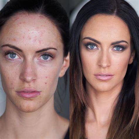 La puissance du maquillage avec des avant après hallucinants