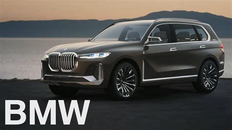 BMW Concept X7 iPerformance is a big, flashy study that ...