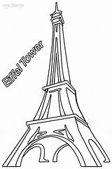 Eiffel Tower Coloring Printable Torre Paris Drawing Cool2bkids Monuments France Para Sheets Drawings Tour Building Historical Imágenes Caligrafía Colorear Repujado sketch template