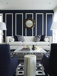 unique blue and white living room design ideas decozilla With blue and white living room decorating ideas