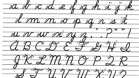 Schools May Teach, Not Impose Cursive Writing On Students