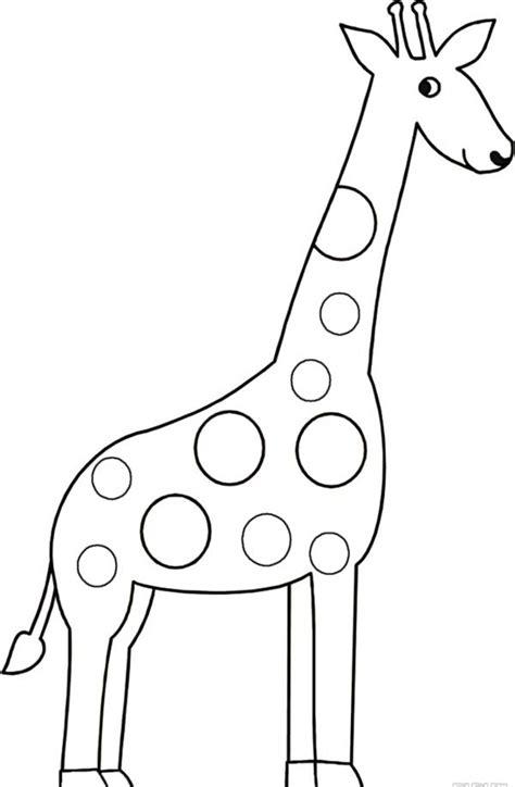 giraffe drawing coloring page netart
