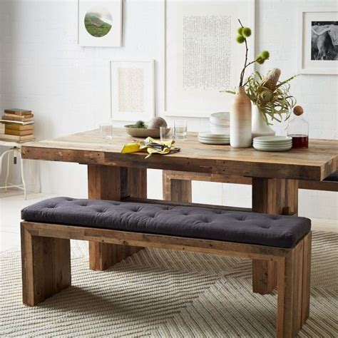 small white kitchen table with bench best 25 narrow dining tables ideas on narrow