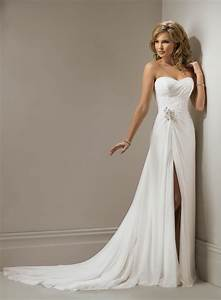 chiffon sweetheart a line wedding dress dresscab With wedding dresses chiffon