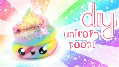 diy kawaii unicorn poop charm kawaii friday youtube