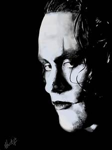 The Crow - Brandon Lee by MartyIsi on DeviantArt