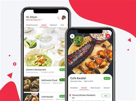 Iphone X Food Delivery App Views Sketch Freebie