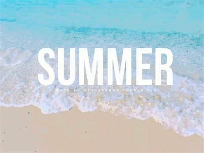 Summer Fun Beach Gifs Background Party Sommer