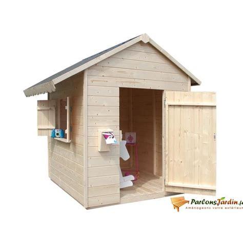 maison en bois pour enfant pas cher cabanes abri jardin