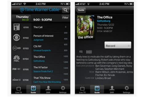 iphone users get time warner cable tv app