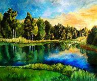 Landscape Acrylic Painting Ideas