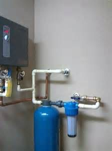 Whole House Water Filter Installation