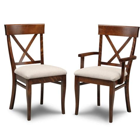 x back wood dining chairs image mag