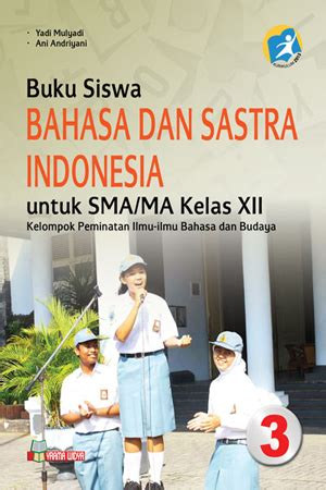 jual buku bahasa  sastra indonesia sma xii kurikulum