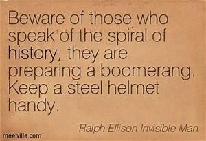 Ralph Ellison |... Invisible Man Machine Quotes