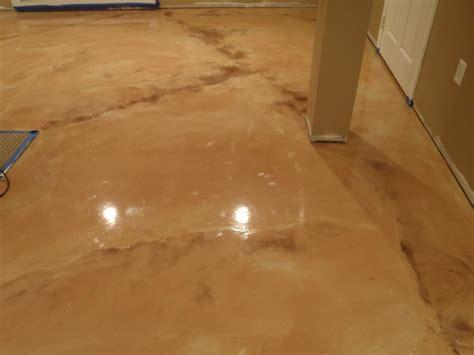 Metallic Epoxy Basement Floor Diamond Kote Decorative