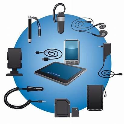 Mobile Accessories Icon Vector Phone Accessory Clip