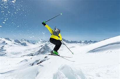 Skiing 4k Snow Mountain Ultra Winter Wallpapers