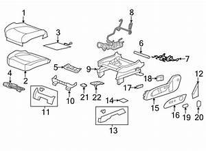 Chevrolet Traverse Power Seat Wiring Harness  Left  Way