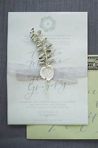 372 best images about wedding invitations on pinterest With wedding invitations with wax paper