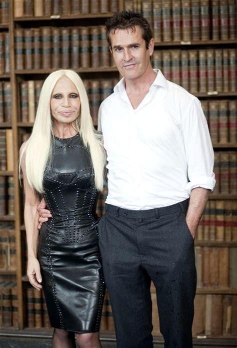 Donatella Versace and Husband