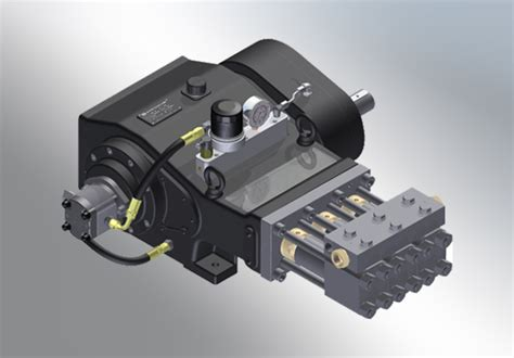 Waterjet Intensifier Pump, Water Jet Units - OH Precision ...