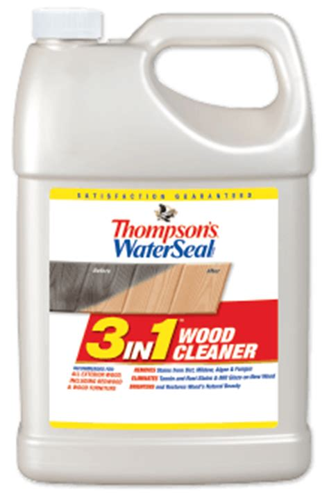 thompsons waterseal    wood deck cleaner