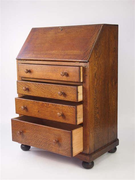 bureau olier vintage small vintage oak bureau