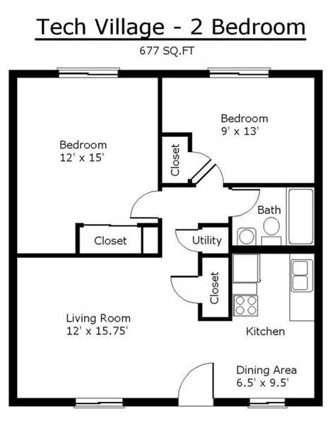 2 Bedroom Small Apartment Design by Tiny House Single Floor Plans 2 Bedrooms Apartment Floor