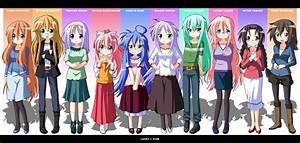 Lucky Star Anime Characters - Bing images
