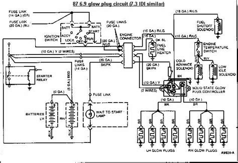 Glow Plug Relay Testing Page Ford Truck Enthusiasts