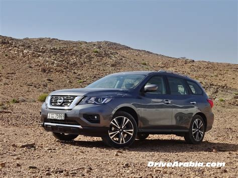 First Drive 2018 Nissan Pathfinder In The Uae  Drive Arabia