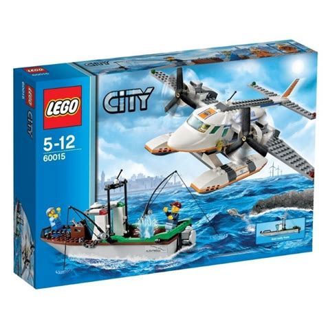 Lego Boat Plane by Brand New Lego 60015 Fishing Boat And Lego City Rescue