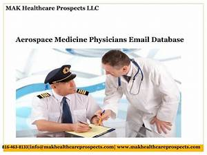 PPT - Aerospace Medicine Physicians Email Database ...