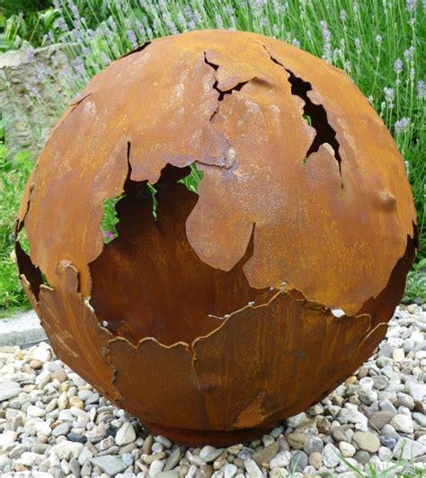 Gartendeko Kugel Rost by 46 Ideen F 252 R Gartendeko Rost Da Die Natur Am Besten