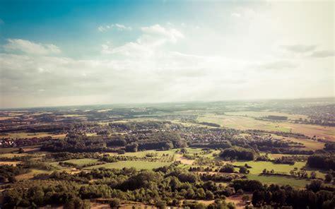 Vintage Landscape, Bavaria, Germany Desktop Background