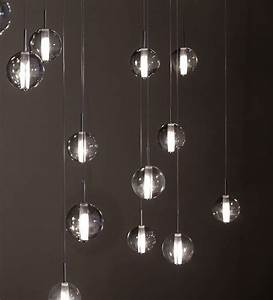 Globe suspensions modern lighting by premiere contemporary living room montreal
