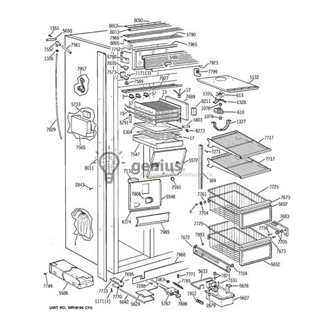 refrigerator replacement parts evaluate hardware