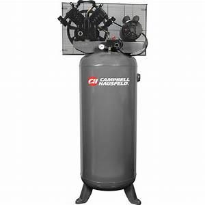 Campbell Hausfeld Electric Air Compressor  U2014 5 Hp  230 Volt
