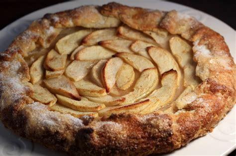 apple galette recipe  scratch