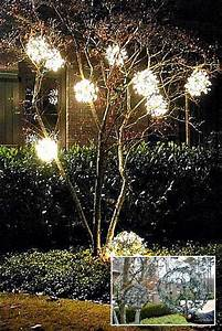 Christmas Ornaments Lights Balls 10 Cool Ideas To Decorate Garden Or Yard Trees For